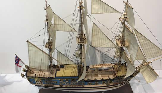帆船模型展