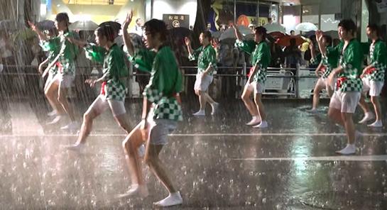 うえの夏祭りパレード 2014