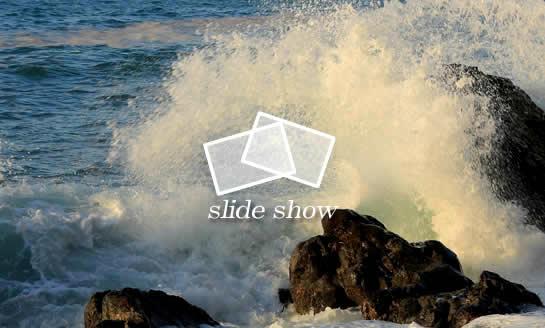 糸魚川の荒海