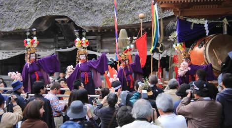 白山神社春の祭典