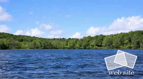 糸魚川ジオパーク しら池