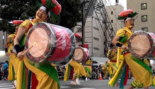うえの夏祭りパレード